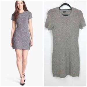 Theory Cecile Wool Silk Cashmere Sweater Dress
